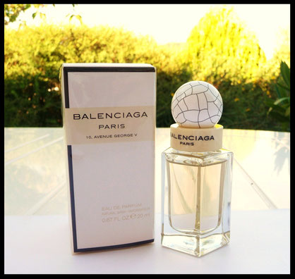2010 - BALENCIAGA PARIS - FLACON EAU DE PARFUM 20 ML