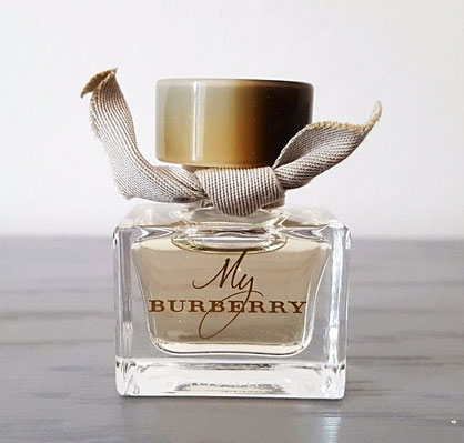 2016 - BURBERRY - MY BURBERRY : EAU DE TOILETTE 5 ML, MINIATURE SEULE.