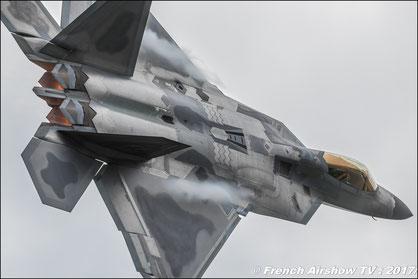 f-22 raptor solo display demo usaf  F-22 Raptor demo team  2012