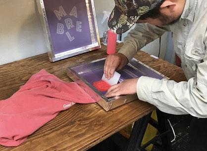 Silk Screen Workshop, KIYOSHI OKABE