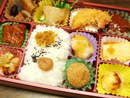 おもてなし弁当1400円 読売新聞橋本中央店プレゼント企画
