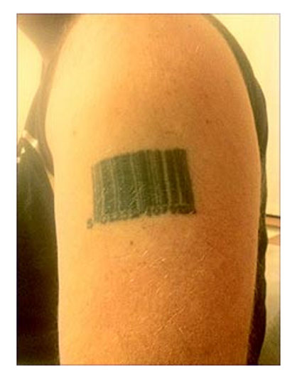 The reason many artists turn away requests for bar-codes.