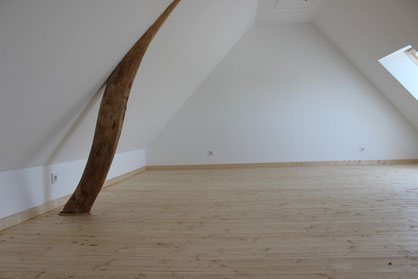 Pose de parquet massif chêne ou sapin sur lambourdes (image)