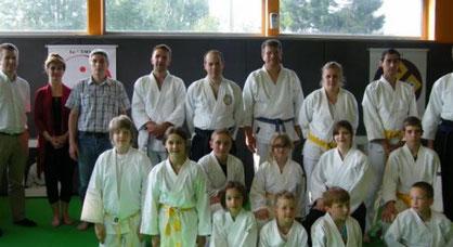 Cette année, la remise de diplômes a concerné quatorze membres du club dont huit enfants.