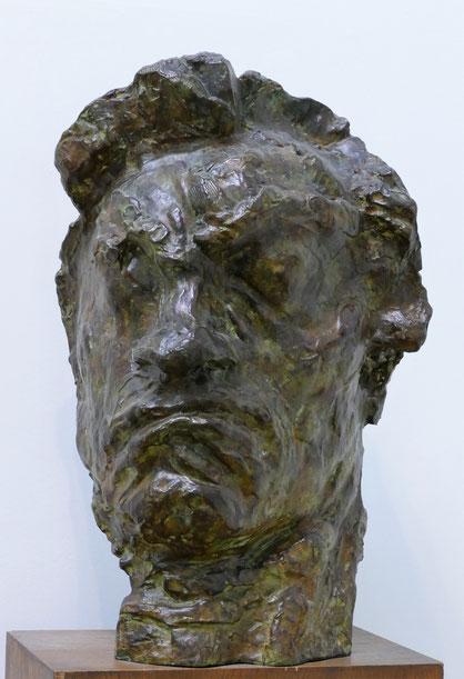 Emile Antoine Bourdelle (1861-1929) : Beethoven, masque tragique
