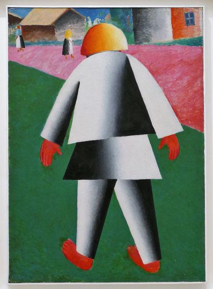 Kazimir Malevich (1879-1935) : Vanka