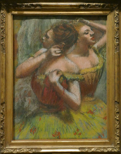 Edgar Degas (1834-1917) : deux danseuses