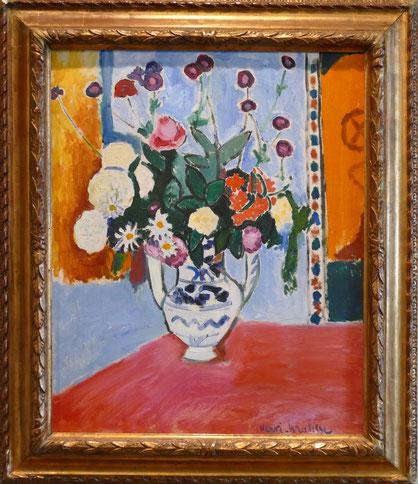 Henri Matisse (1869-1954) : bouquet (vase avec deux anses)