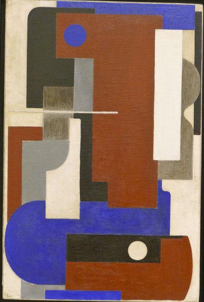 Vladimir Lebedev (1891-1967) : cubisme n° 4