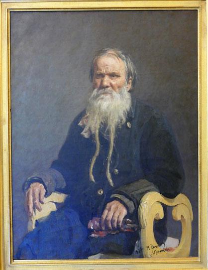 Ilya Repin (1844-1930) : portrait de Vasily Shchegolenok