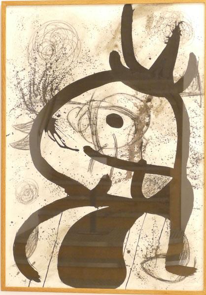 Joan Miro : personnage oiseau