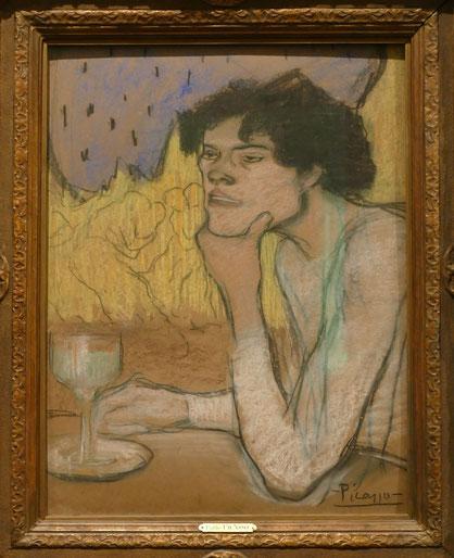 Pablo Picasso (1881-1973) : absinthe