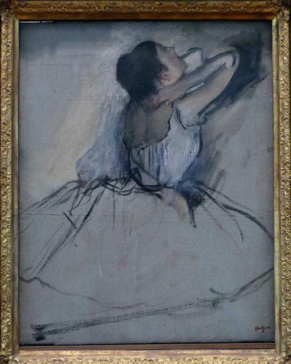 Edgar Degas (1834-1917) : danseuse