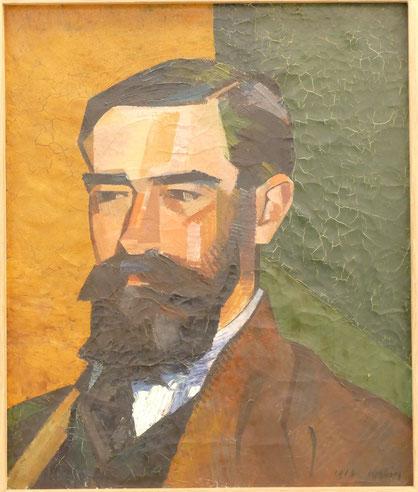 Auguste Herbin : portrait de Michel Aribaud