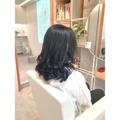 横浜 元町 石川町 デジタルパーマ 髪質改善 ヘアドネーション パーマ