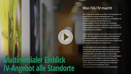 Pageflow FAU IV an allen vier Standorten