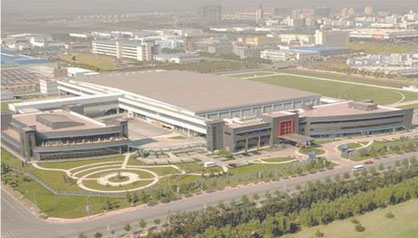 The client's large manufacturing plant outside Beijing