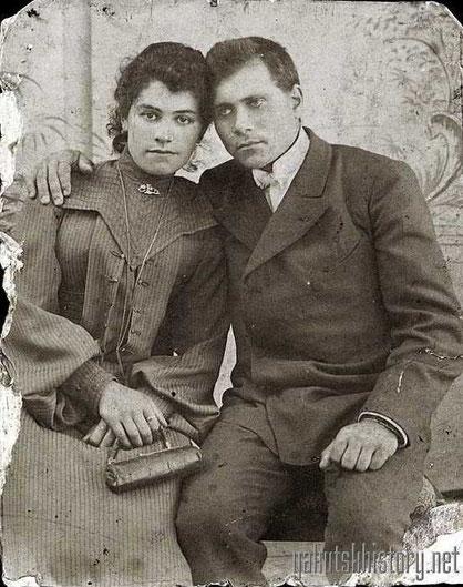 Н.С. Горовацкий и его жена Рахиль Александровна. 18 июня 1904 г