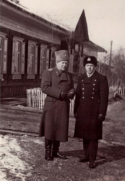 Токарев П.Н. с сыном Владимиром