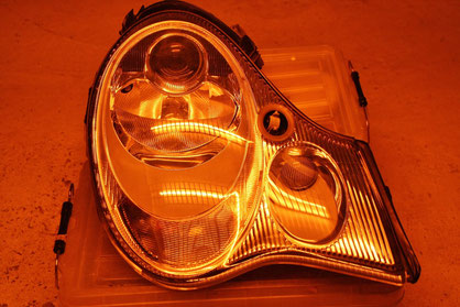 996ヘッドライト磨き・コーティング