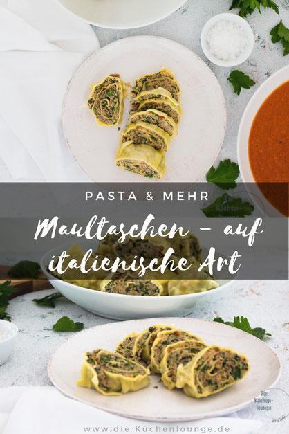 Pasta & mehr, Maultaschen - auf italienische Art