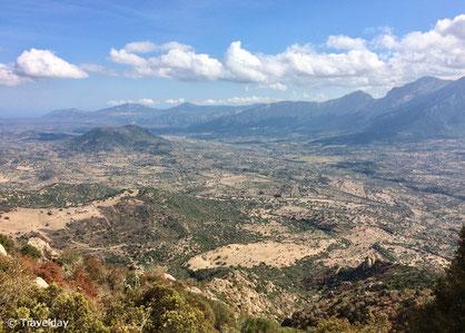Weitsicht vom Monte Ortobene