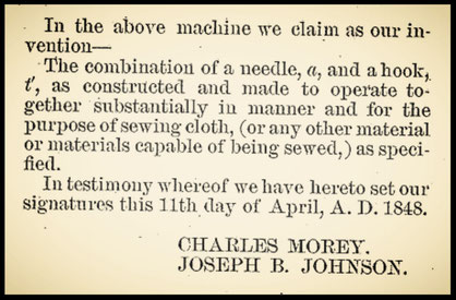 US 6.099                Morey & Johnson             (February 6, 1849)