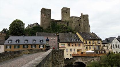 Die Burg von Runkel...