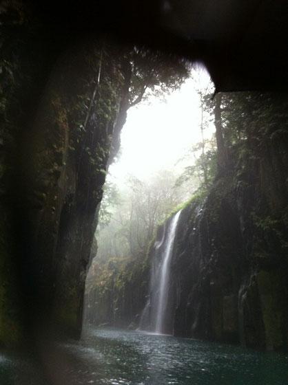 高千穂峡真名井の滝