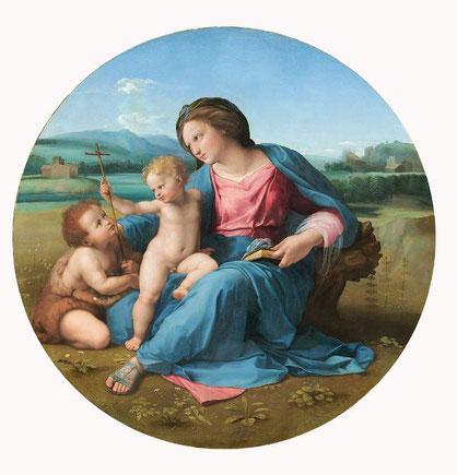 Самые известные картины Рафаэля - Мадонна Альба