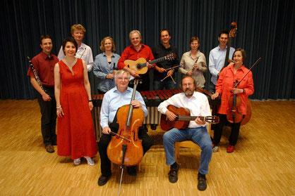 Das Ensemble Rossi im Juni 2011