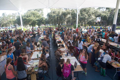 Arial image from Eckerd Club Fair