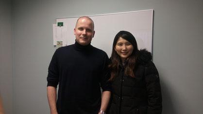 英会話コース Andrew& Erika