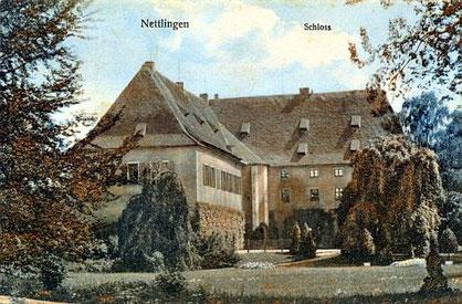 Schloss Nettlingen bei Hildesheim (erbaut um 1570 von Kurt von Saldern) - Alte Postkarte