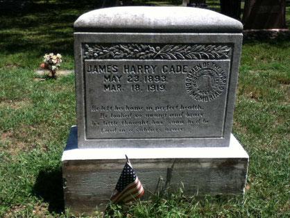 Tombe de James - James' grave - @Carol Hopper Bader