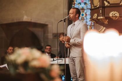 Hochzeitsmusik mit Hochzeitssänger