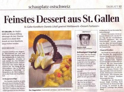 St. Galler Tagblatt Januar 2006