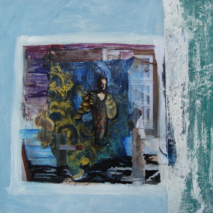 Künstlerin mit deutsch-türkischen Wurzeln, intuitive Malerei, Seelenbilder, Gefühlswelten, Selbstentwicklung, Olching