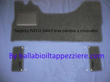 tappeto per furgone iveco daily  III serie by ballabioiltappezziere.com