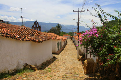 Region Santander Guane Reisen Kolumbien