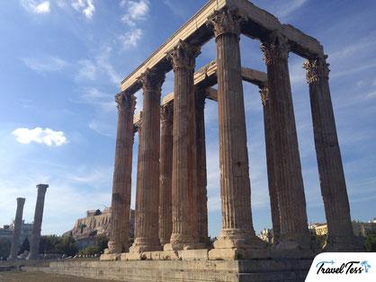 Tempel van Zeus Athene