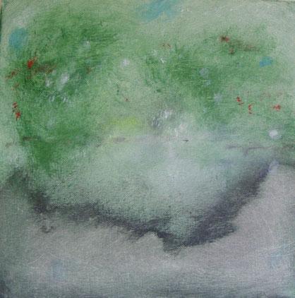 """""""Zomer'   Acryl on canvas   ( 30x30 cm )"""