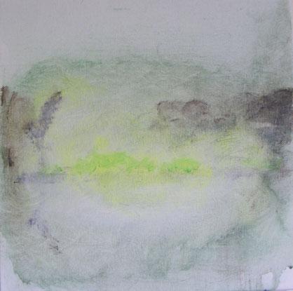 """Voorjaar""  Acryl on canvas  ( 30x30 cm )"