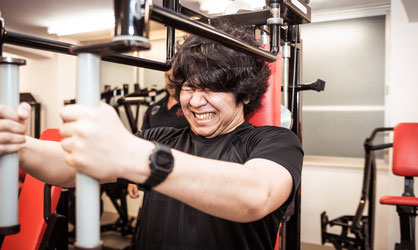 運動不足で腰椎ヘルニアの奈良県御所市の男性