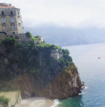 La côte Amalfitaine (classée au patrimoine mondial de l'UNESCO depuis 1997)