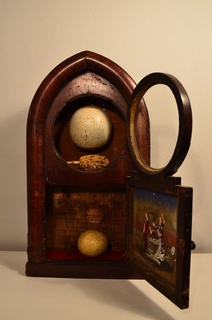 Shrine made by artist Bob Rizzo in 2004. Object of Desire