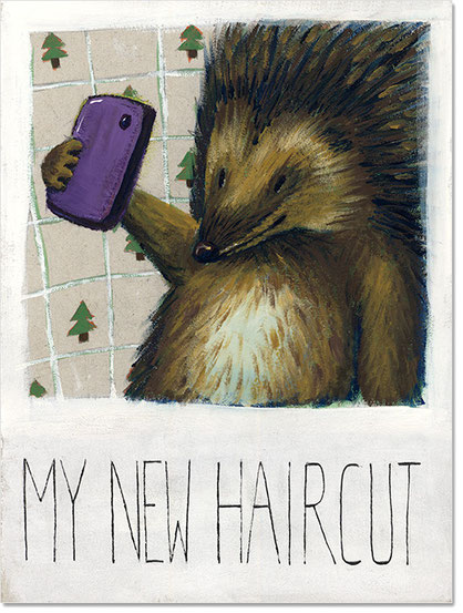 My new haircut © Dorothea Blankenhagen 2014