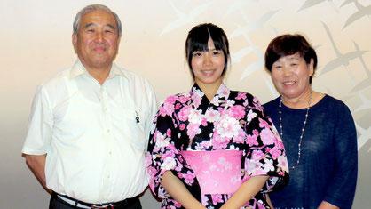 最初のファミリーは澤田ご夫妻