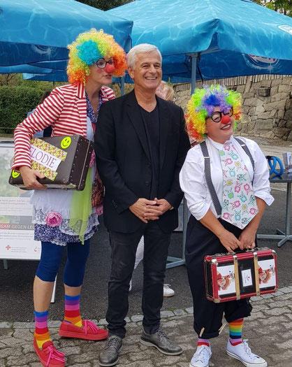 Tag der guten Tag, Kinderzoo Knie in Rapperswil, 15.09.2018; in Zusammenarbeit mit dem Schweizerischen Roten Kreuz