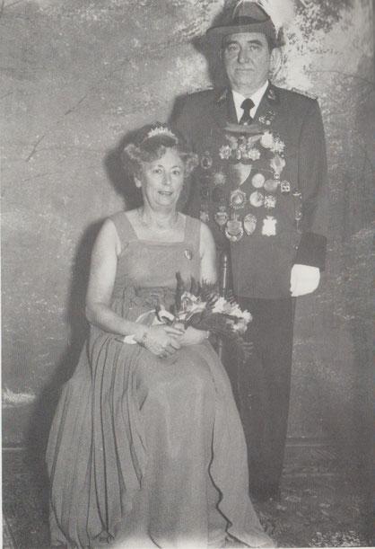 Königspaar Ludwig II  Else II  1977-1980  Zenses